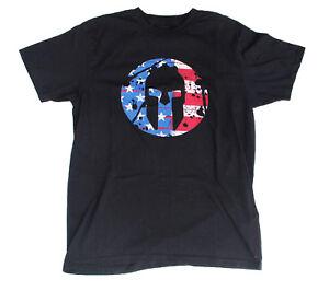 Flag American Gear de logo de Camisa con negra Spartan Zw4UfA