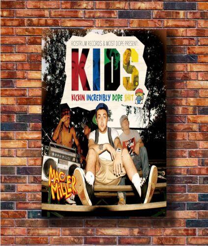 14x21 24x36 Art Gift X-1793 New Mac Miller KIDS Rapper Music Photo Poster