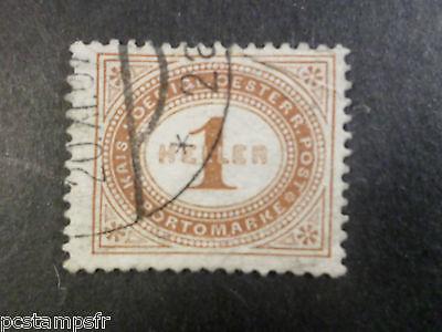 Francobollo Classico Tassa N° 22 Stamp Spedizione Due Selected Material Timbrato Sensible Austria 1900