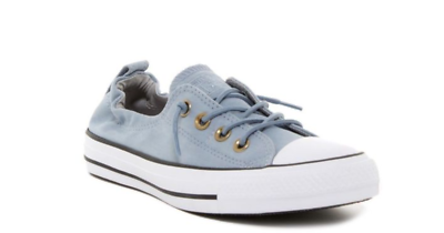Converse All Star Femmes Ox Shoreline Slip Bleu Skate 558592