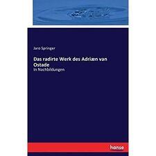 Das Radirte Werk Des Adriaen Van Ostade by Hansebooks (Paperback / softback,...