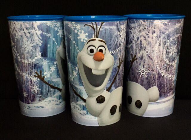 Frozen Fever Olaf Disney Princess Kids Birthday Party Favor 16 oz Plastic Cup