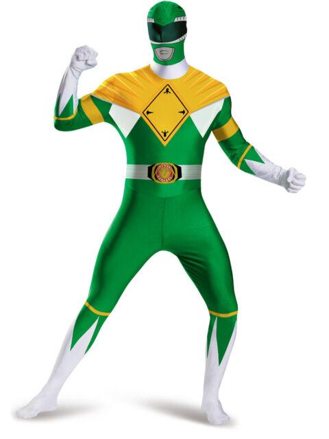 Power Range Green Ranger 2nd Skin Fancy Dress Costume