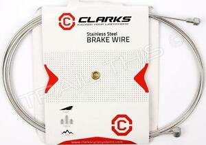 CLARKS Universal MTB//Road Bike Stainless Steel Brake Cable /& Housing 1 or 2 Pack