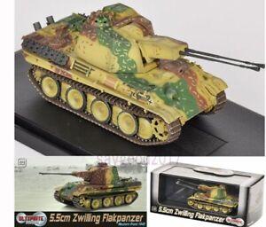 1-72-Dragon-WWII-5-5cm-Zwilling-Flakpanzer-Tank-Western-Front-German-Tank-Toys