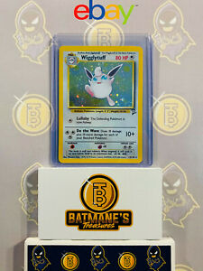 Lightly Played Holo-foil Rare  Pokemon Card Wigglytuff 19//130 Base 2 Set
