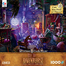 1000 Piece Jigsaw Puzzle Hope Diamond - Key to Ravenhearst Twins Secret Room