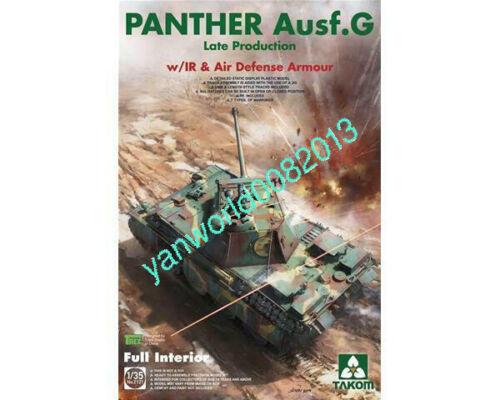 TAKOM 2121 1//35 PANTHER AUSF.G LATE W// IR /& AD ARMOUR FULL INTERIOR KIT BNIB