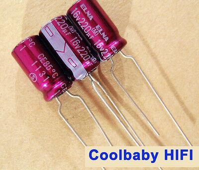 30pcs ELNA STARGET 33uF 16V 5x11mm audio electrolytic capacitor 85ºc