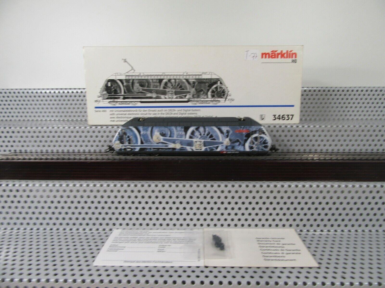 Märklin 34637 BR 460 Swiss Collection attrazione Digital trasformazione in scatola originale