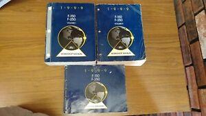 1999 Ford F-150 Service Manual & Wiring Diagram | eBay