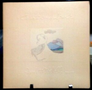 JONI MITCHELL Court & Spark GateFold Album Released 1974 Vinyl Collection USA
