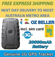 3g Gps Tracker Portable Waterproof Real Time Tracking Magnetic Car Vehicle Heavy