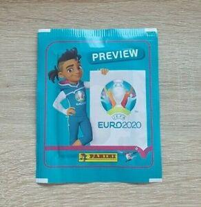PANINI-1-Sac-Preview-UEFA-Euro-2020-Bustina-Pochette-Pack-Packet-Sobre-EM-20