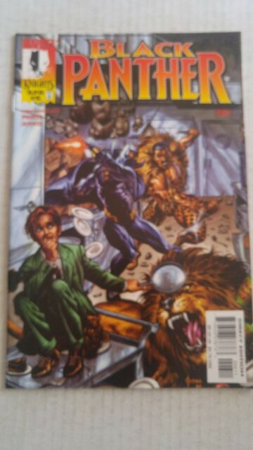 Black Panther #6 April 1999 Marvel Comics Priest Jusko
