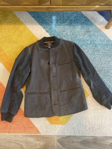 RRL Double RL 1930s Style Workwear Jacket, Size Sm