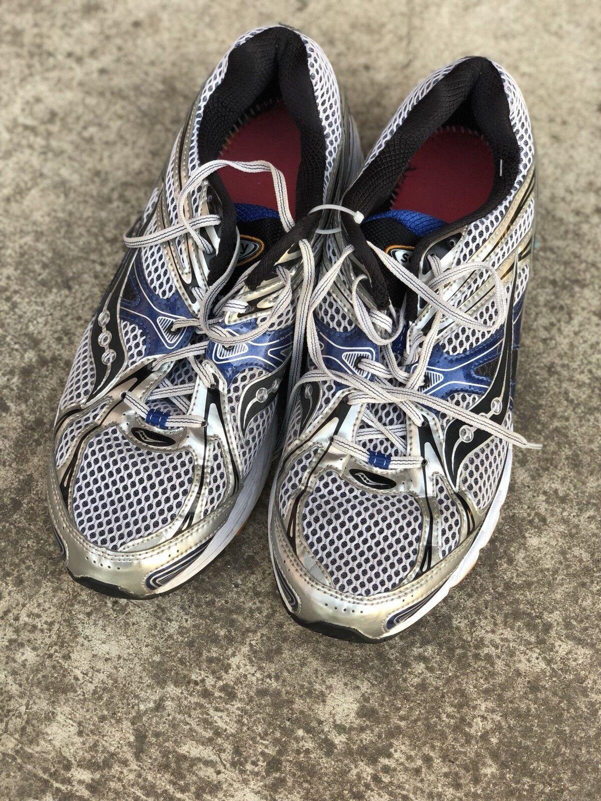Uomo Saucony Guide Größe 6 Running Schuhe Grau mesh Größe Guide 12 c10293
