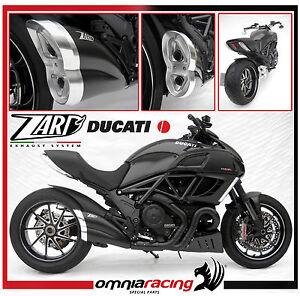 Zard Black Street Legal Ducati Diavel Carbon 2014 Exhaust