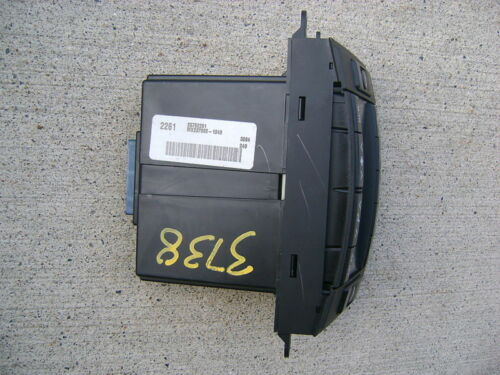 03-06 CADILLAC CTS A//C HEATER CLIMATE CONTROL 04 05
