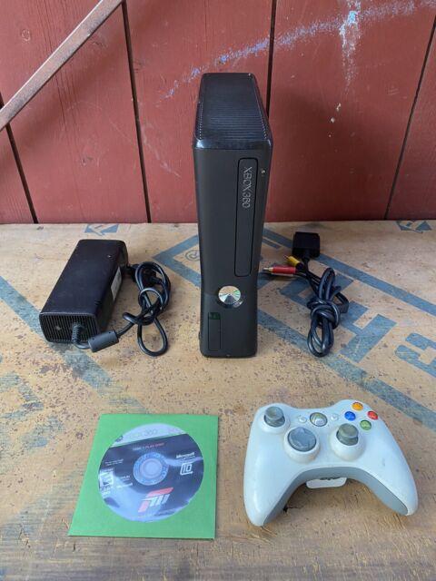 Microsoft Xbox 360 S Slim 250GB Black Console Game Bundle ...