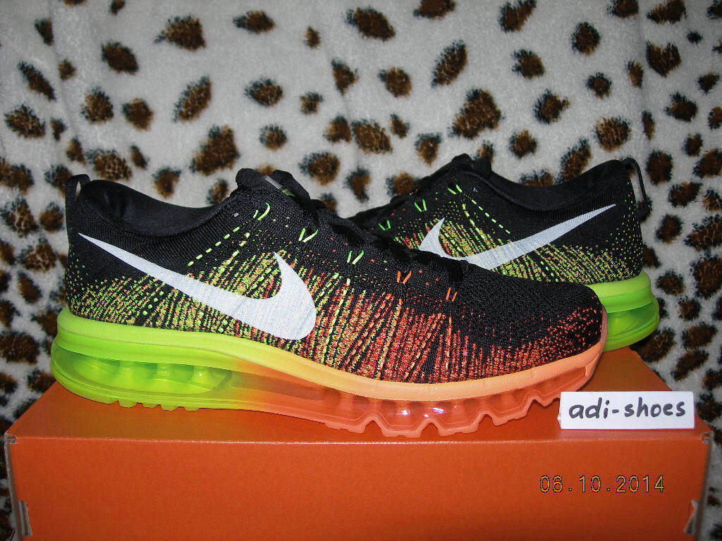 Nike 11 Flyknit Max 2018 voltios/naranja atómico US 8,5 9,5 11 Nike Air 620469018 LDZero 97 14c20c