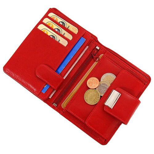 Boccx Portafoglio Donna in Pelle da Donna Borsa Portafoglio Portafoglio Borsa valori 10030 NUOVO