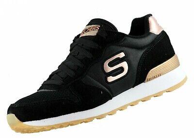 Skechers OG 85 Goldn Gurl 111 Schwarz BLK Memory Foam Retro Sneaker Neu | eBay