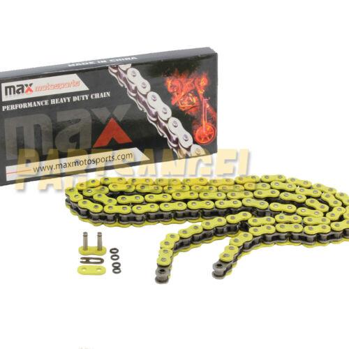 Yellow 520x76 Links Chain For 2002 2003 2004 2005 2006 Polaris Trail Blazer 250