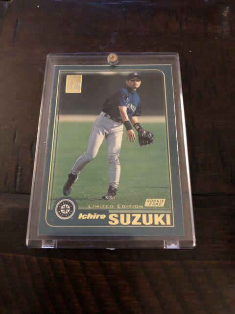 Ichiro Suzuki Rookie Card 2001 Topps Limited Edition Seattle Mariners Rc Mint