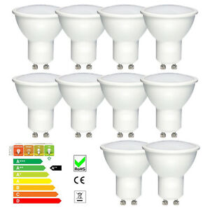 AC-240V-50Hz-LED-GU10-Bulb-Spot-Light-Globe-Lamps-Cool-Warm-White-3W-5W-Bulb