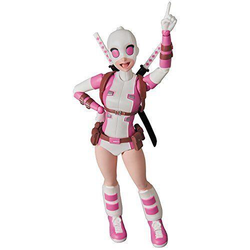 Medicom Mafex  071 Marvel Gwenpool Figurine Articulée  en ligne