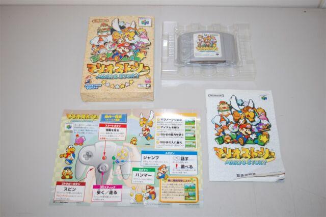 Mario Story Paper Mario japan Nintendo 64 N64 Game