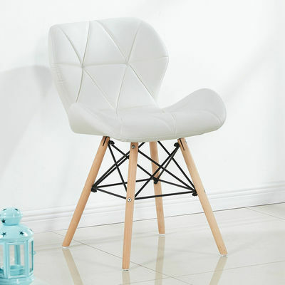 Cecilia Eiffel Style Pentagone Dining Chair Living Room Faux Leather Padded WOW
