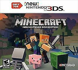 Minecraft: New Nintendo 3DS New 3ds Edition Nintendo 3DS, ( BRAND NEW, SEALED)
