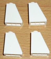 Lego 4 Schrägsteine 65  2 x 1 x 2 in weiß