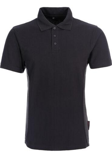 Mens Work Polo Shirt Heavy Duty Fabric Short Sleeve Work Top