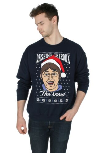 Dashing Theroux The Snow Christmas Sweater Top Jumper Sweatshirt Xmas Ugly Louis