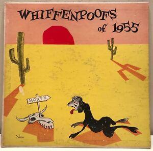 Yale-Whiffenpoofs-of-1955-LP-RCA-Custom-Press-deep-groove