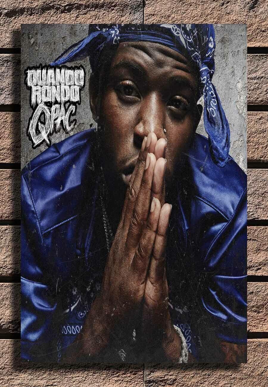 32x48 24x36 Poster Quando Rondo QPac Rapper Music Art Silk 2402