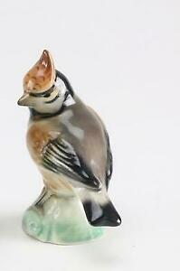 Vintage-Antique-Porcelain-4-5-8-034-Bird-Figurine-Germany-German
