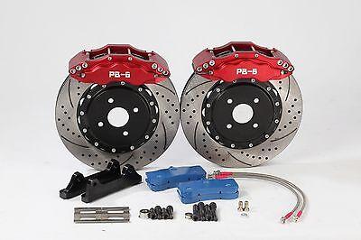 Front 356mm 6-Pot PB Brakes Big Brake Kit for Nissan Skyline GTR R32 R33  R34 R35 | eBay