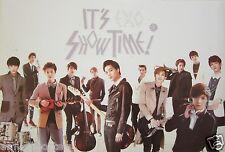 "EXO ""IT'S SHOW TIME!"" POSTER - K-Pop Music, Korean Boy Group"