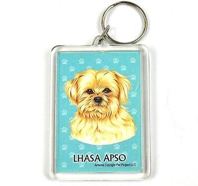 Süßer Hunde Usa Schlüsselanhänger - Lhasa Apso