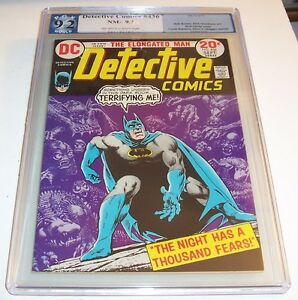 Detective #436 - Graded NM- 9.2 - DC 1973 Bronze Age issue