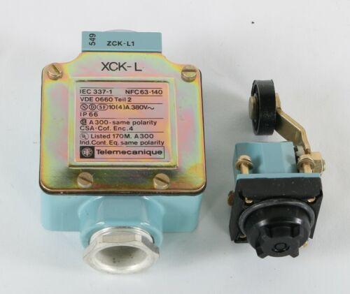 New XCKL115 Telemecanique Spring Return Side Roller Lever Limit Switch