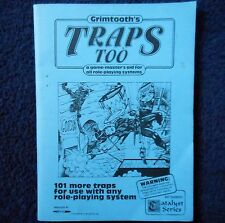 Grimtooth's trampas demasiado Advanced Dungeons & Dragons Aventura módulo 1st Edición