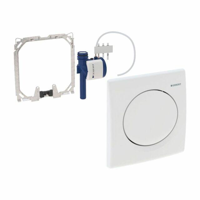 GEBERIT DUOFIX Basic Urinal-Element mit HyBasic Urinal-Handauslösung weiß