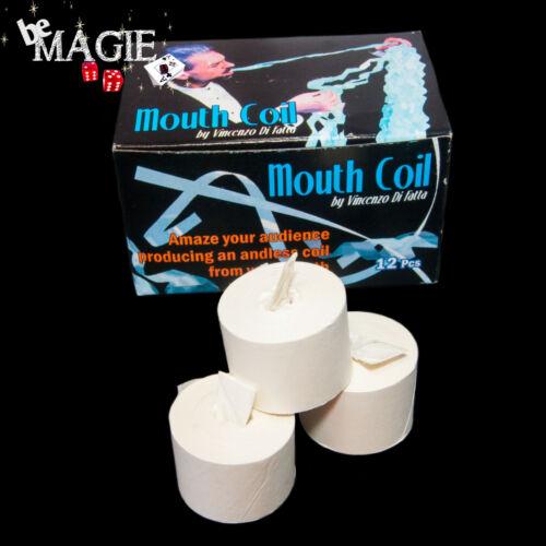Tour de Magie Mouth Coils Ruban à la bouche BLANC