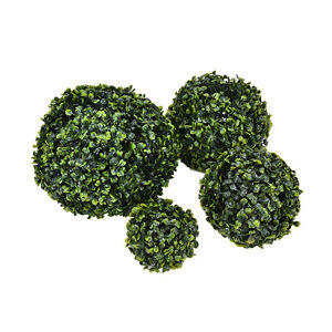 Artificial plant ball topiary tree boxwood wedding party outdoor image is loading artificial plant ball topiary tree boxwood wedding party junglespirit Choice Image