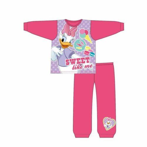 DISNEY Daisy Duck Ragazze Pigiama Set Pjs Carino Nightwear dai 1 ai 4 anni IDEA REGALO